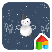 Let it snow Dodol Theme for Lollipop - Android 5.0