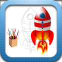 Crazy Rockets HD logo