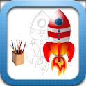Crazy Rockets HD logo