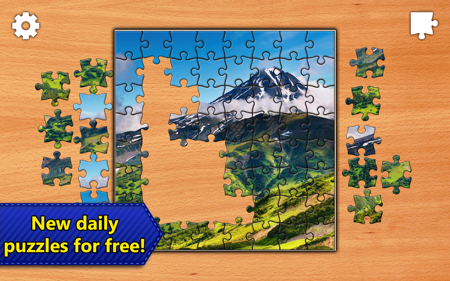 free daily jigsaw puzzle games