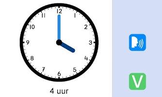 Screenshot of Klokkijken (gratis)