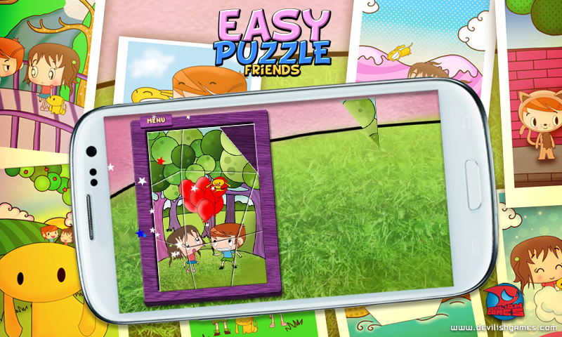 Easy Puzzle Friends- screenshot