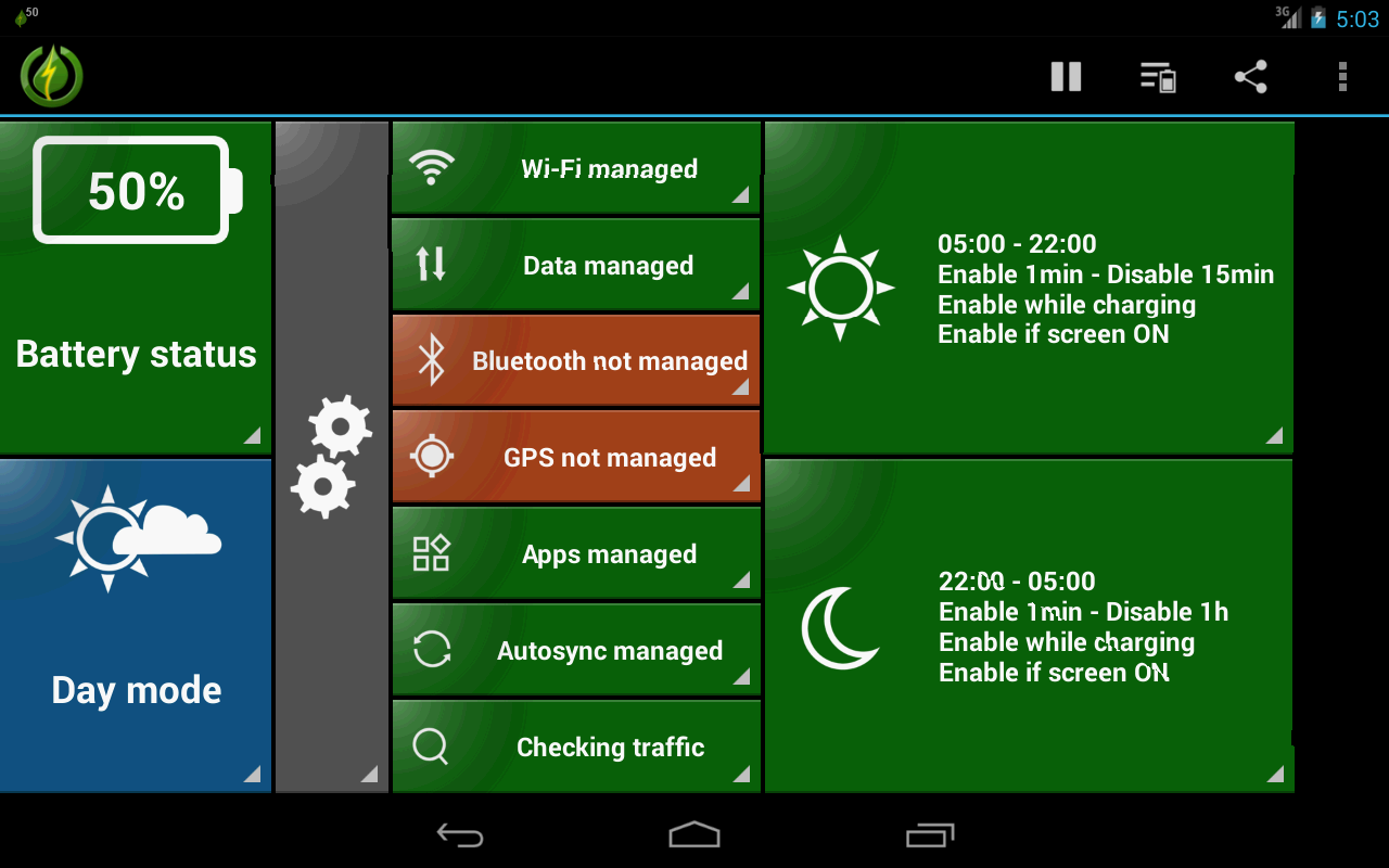 GreenPower- screenshot