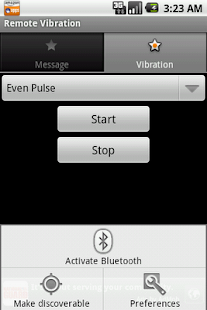 Remote Vibration- screenshot thumbnail