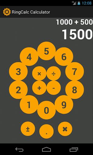 RingCalc Calculator