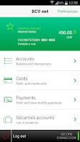 Screenshot of BCV Mobile
