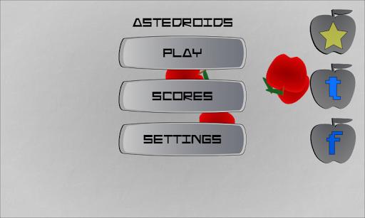 Asteroids Droid Apples