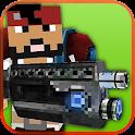Pixel Craft Gun Battle 3D icon