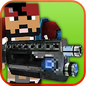Pixel Craft Gun Battle 3D