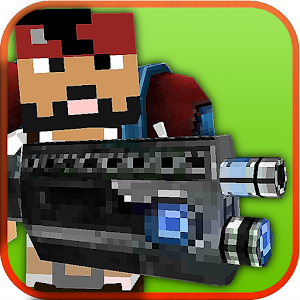 Pixel Craft Gun Battle 3D for PC and MAC