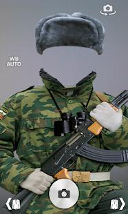 Modern soldier-RU photomontage screenshot