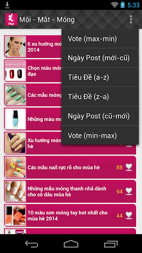 【免費健康App】Bi Quyet Lam Dep (Làm Đẹp)-APP點子