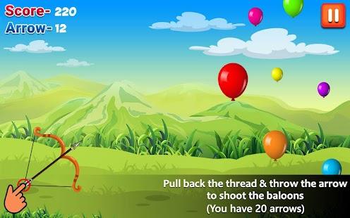 Ballon Shooting - náhled