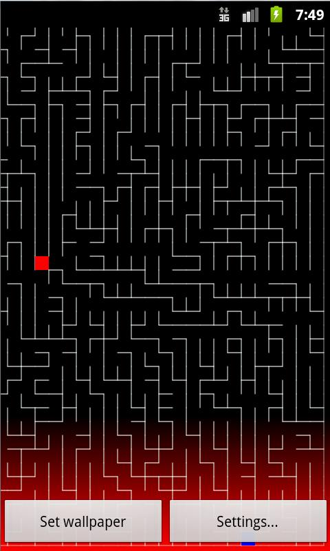 Maze Live Wallpaper- screenshot