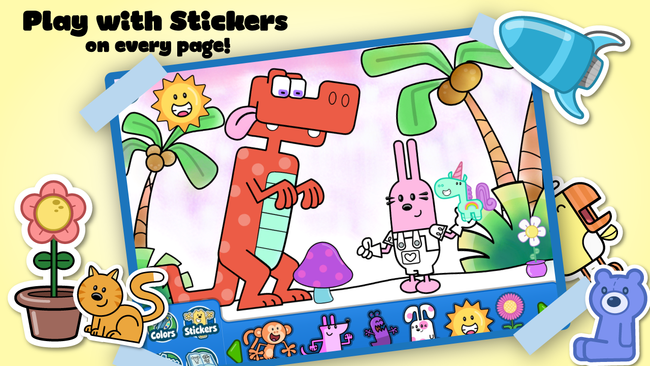 wubbzy u0027s animal coloring book android apps on google play