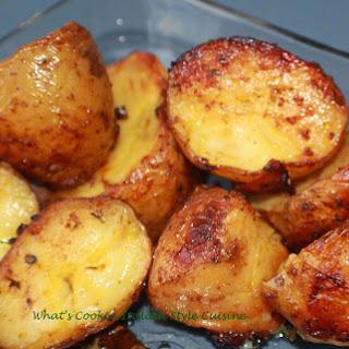 Italian Roasted Potato.