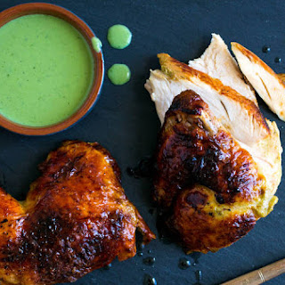 Green Goddess Roasted Chicken