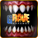 GRave Defense Gold logo