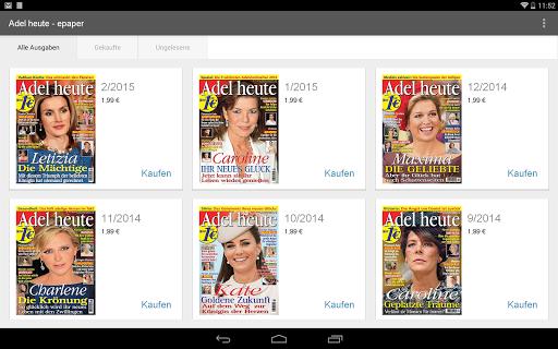 【免費新聞App】Adel heute - epaper-APP點子