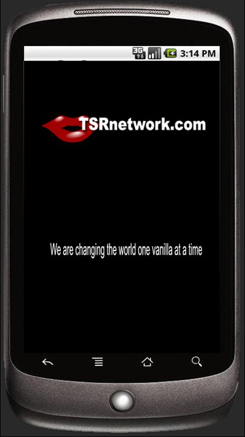 TSRnetwork- screenshot