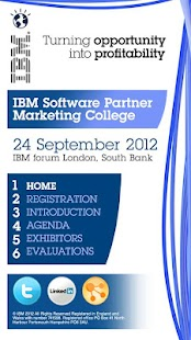IBM Events- screenshot thumbnail