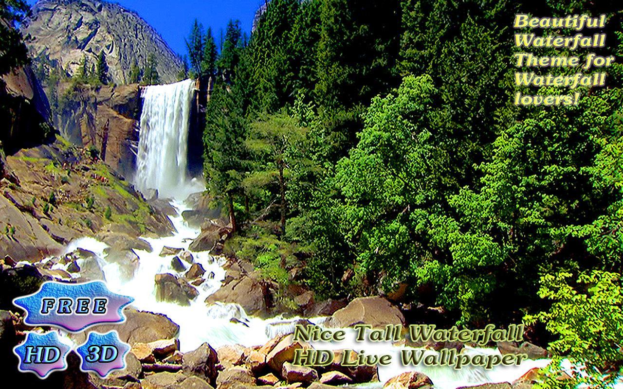 The Living Waterfalls 3d Screensaver : Nesswawen