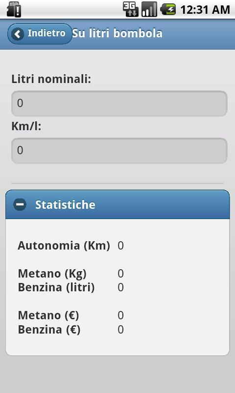 Metano utils - screenshot