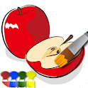 大人の塗り絵(果物) icon