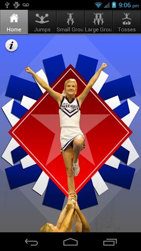 Cheer Stunts Tosses Jumps