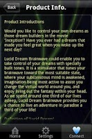 Screenshot of Lucid Dream Brainwave