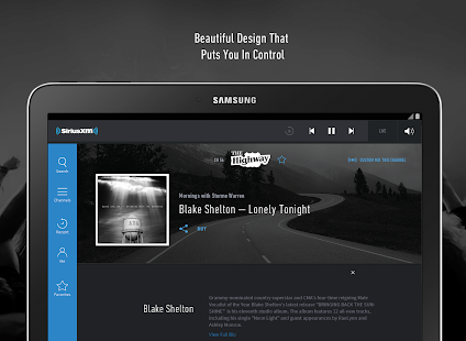 SiriusXM - screenshot thumbnail