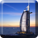 Beautiful Dubai Live Wallpaper icon