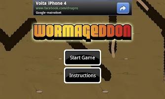 Screenshot of Wormageddon