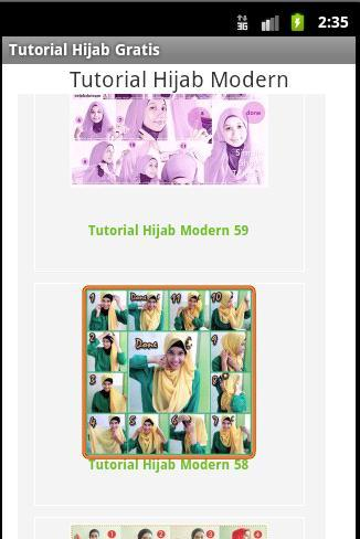 Tutorial HIjab Modern Free - screenshot
