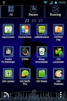 Screenshot of GO Launcher EX Music Theme