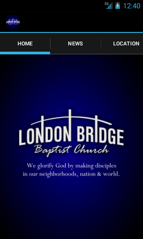 London Bridge Baptist Church - screenshot