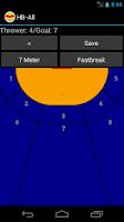 Screenshot of HB-All Handball Statistics