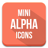 Minimal Alpha - Icon Pack