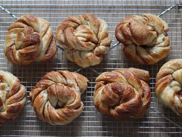 "Danish Cinnamon buns or ""Kanelsnurrer"""