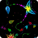 Magic Effect Butterfly Neon icon