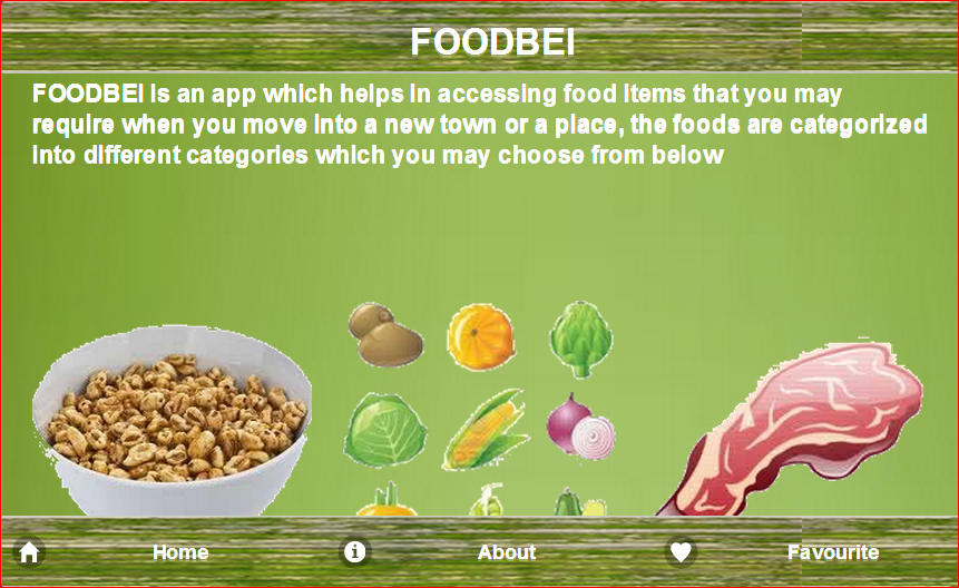 FoodBei- screenshot