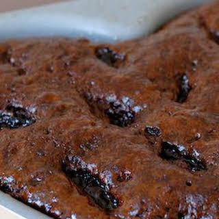 Sticky Chocolate Cake.