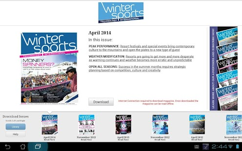 Winter Sports Technology Intl- screenshot thumbnail