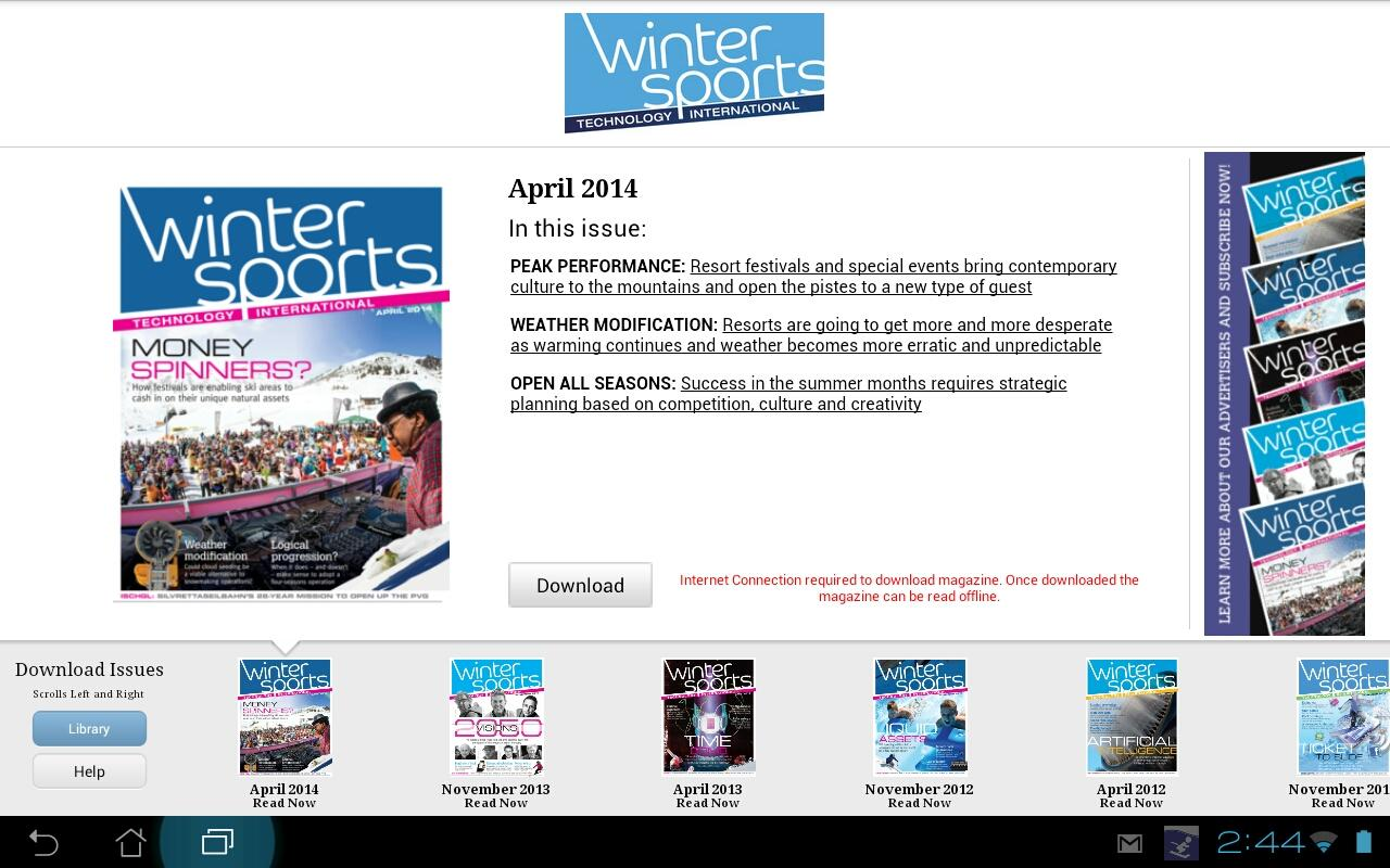 Winter Sports Technology Intl- screenshot