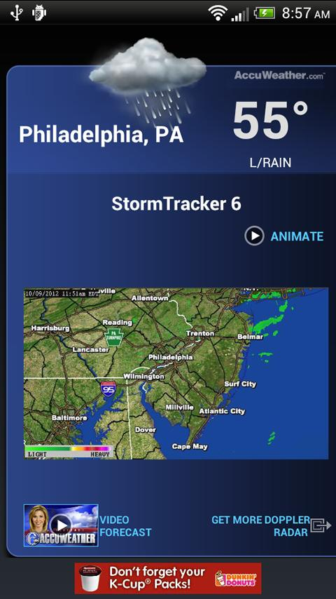 6abc Philadelphia Alarm Clock - screenshot