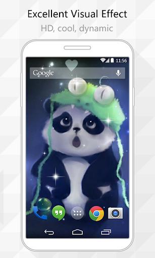 Cute Panda Live Wallpaper