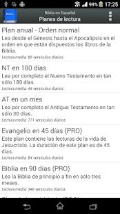 Biblia en Español Reina Valera- screenshot thumbnail