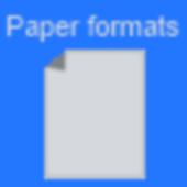 Paper formats