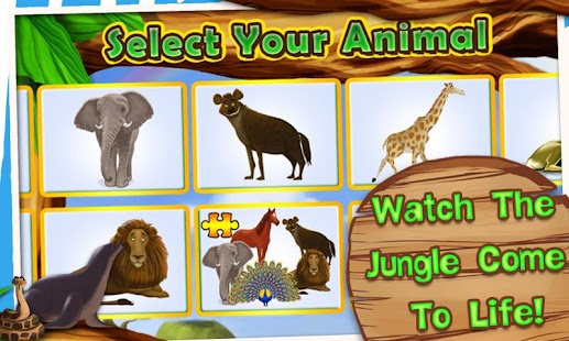 Animals Zoo - Interactive Game - náhled