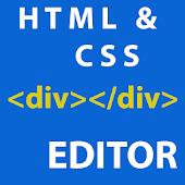 CSS HTML editor